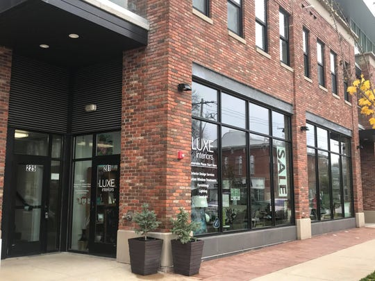 Luxe Interiors in Iowa City's Northside district is shown on Nov. 5, 2018.