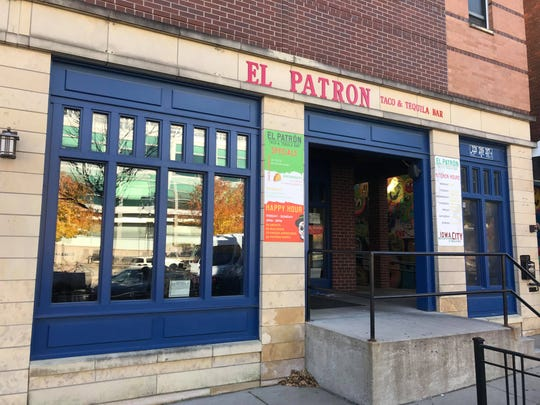 El Patron is shown in downtown Iowa City on Oct. 17, 2018.