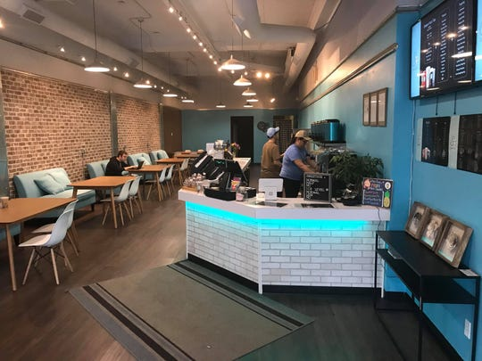 The interior of Iowa City's Teamo Tea is shown on Nov. 5, 2018.