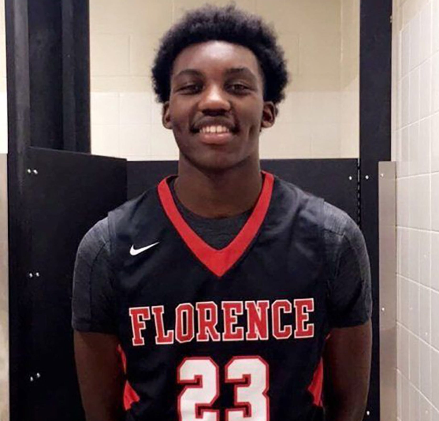 Florence's Jaylen Forbes