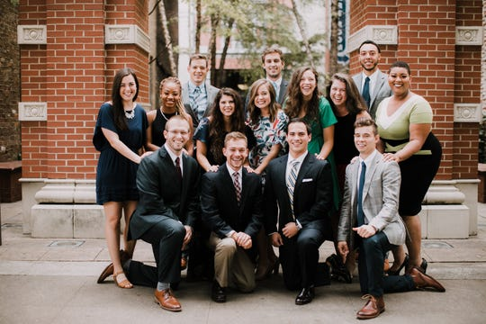 Knoxville Fellows Class 11, which graduated in May 2018