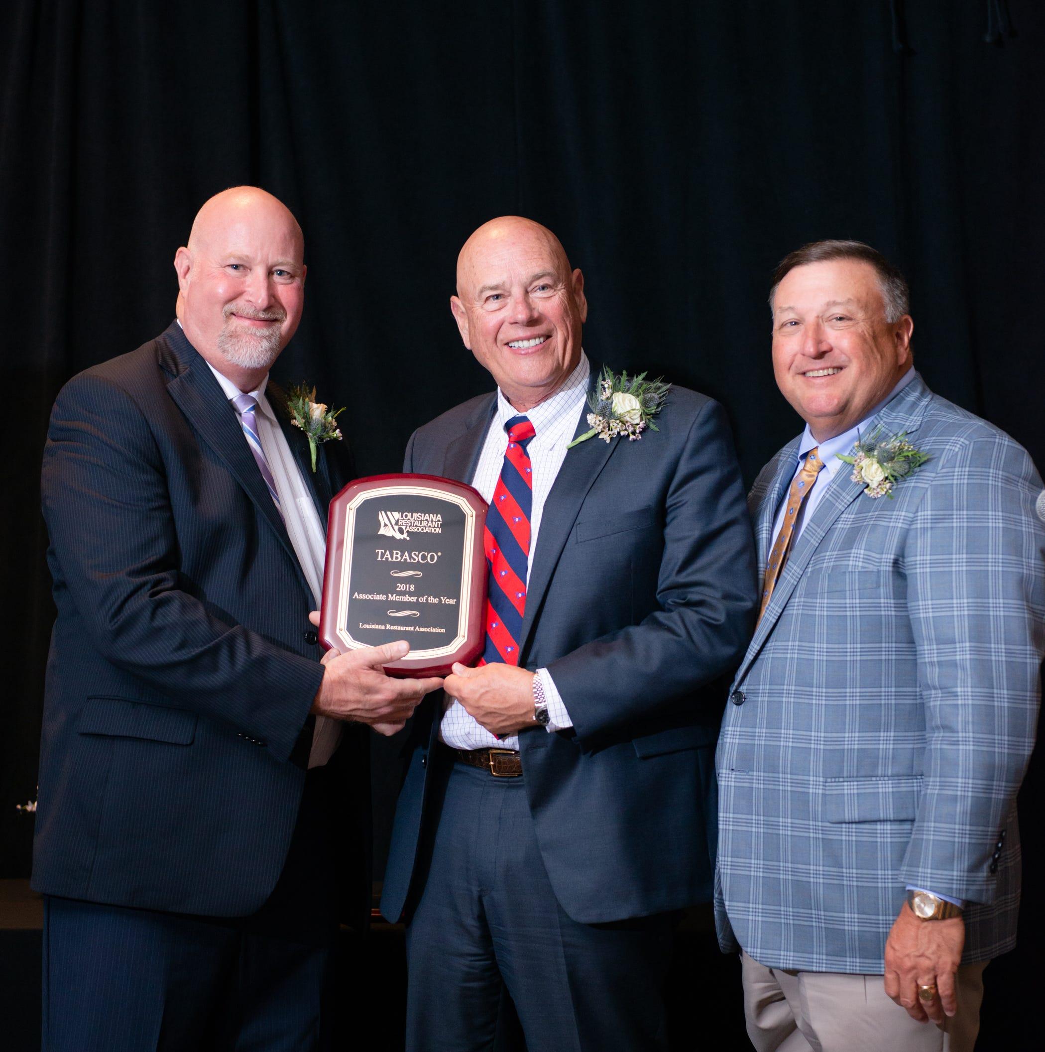 Louisiana Restaurant Association recognizes Acadiana business, advocate