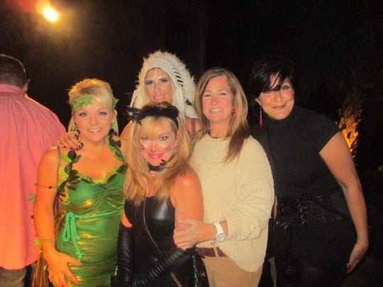 Penny Rogers, Jess Colligan, Roz Kenny, Polly Koury and Laurie Foreman