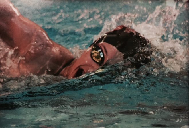 Brighton's Chloe Reed had personal bests while winning the 200 and 100 freestyle in the KLAA swimming and diving meet.