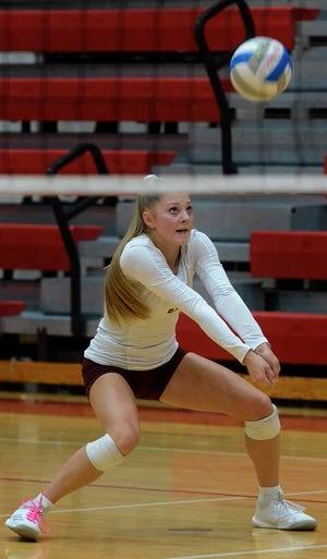 Paige Gallentine and the Charyl Stockwell volleyball team will face Adrian Madison in the regional semifinals at 5:30 p.m. Tuesday at Whitmore Lake.