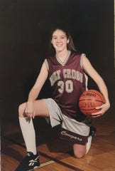 Christi Hester during her time at Louisville's Holy Cross High School.