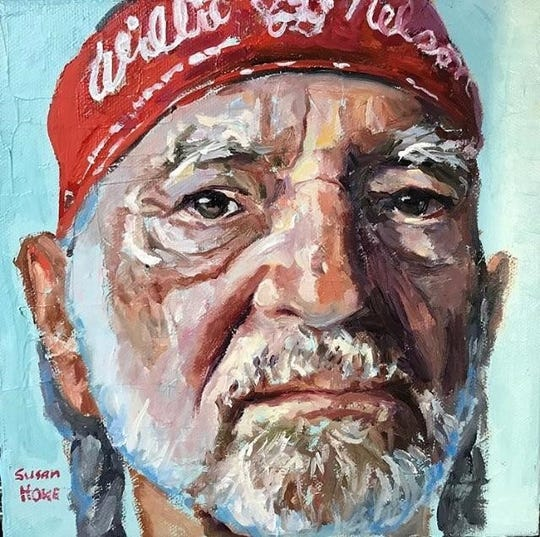 Willie Nelson by Susan Howe