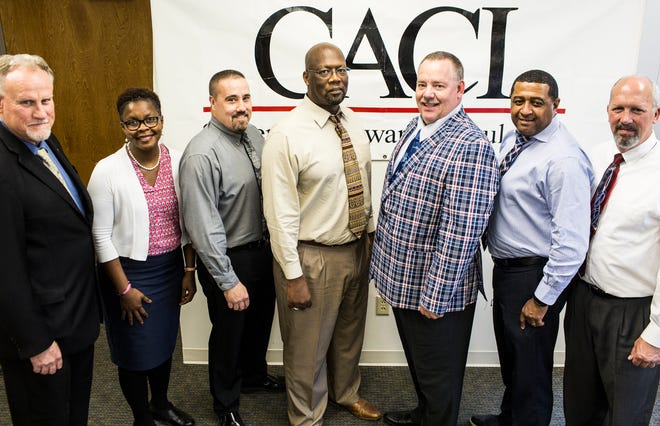 Team members employed by CACI International Inc in Millington have won a Memphis Top Workplace honor. CACI, headquartered in Arlington, Virginia, uses its Memphis-area operations to help the Naval Support Activity Mid-South in Millington.