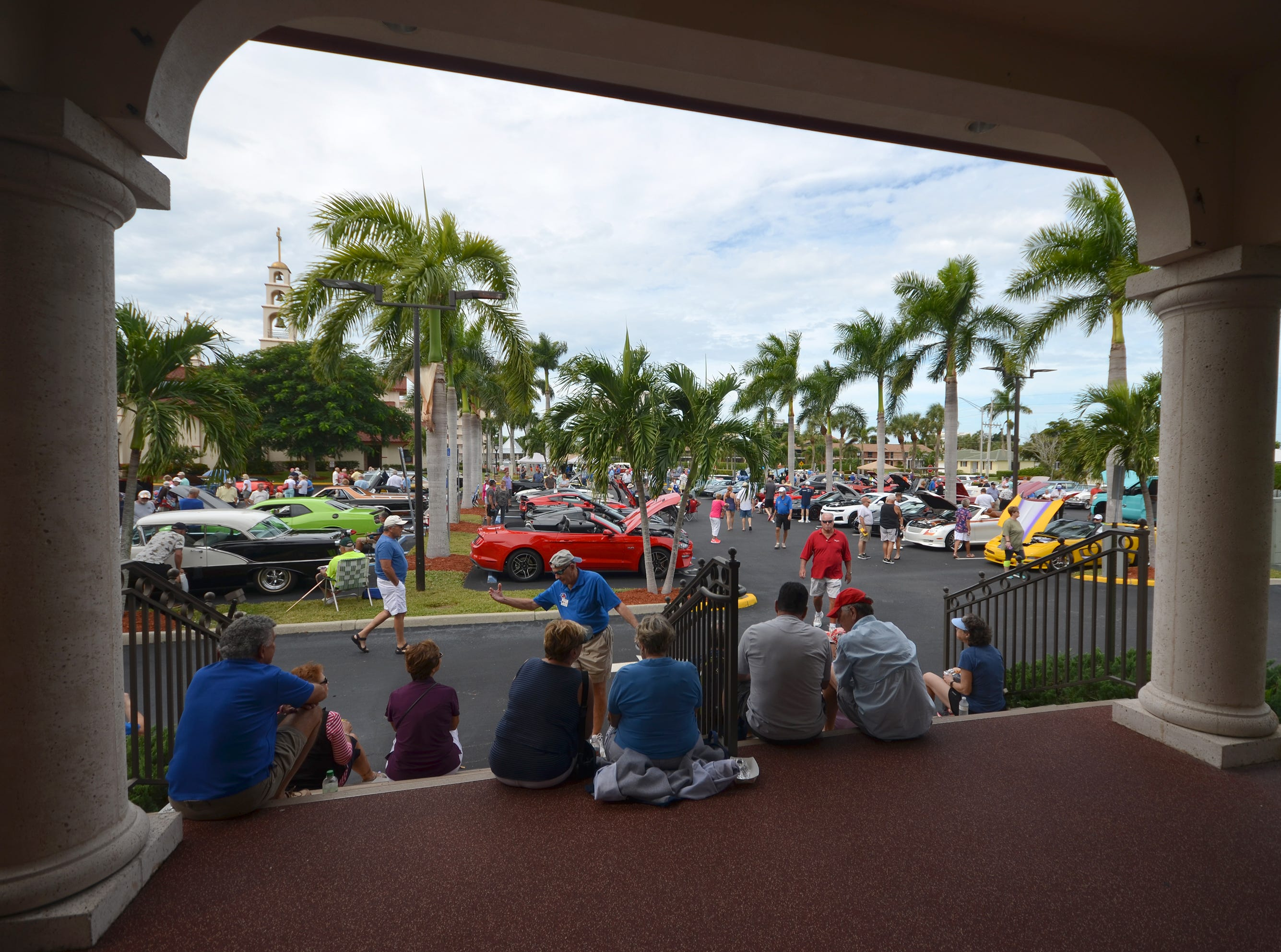 The Marco Island Knights of Columbus inaugural car show, Saturday in the parking lot at San Marco Catholic Church, had something for everybody.