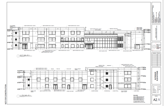 Marco Island Academy elevations