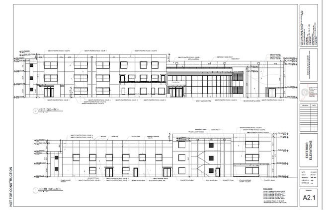 The Marco Island Planning Board has approved a site development plan a new building at Marco Island Academy.