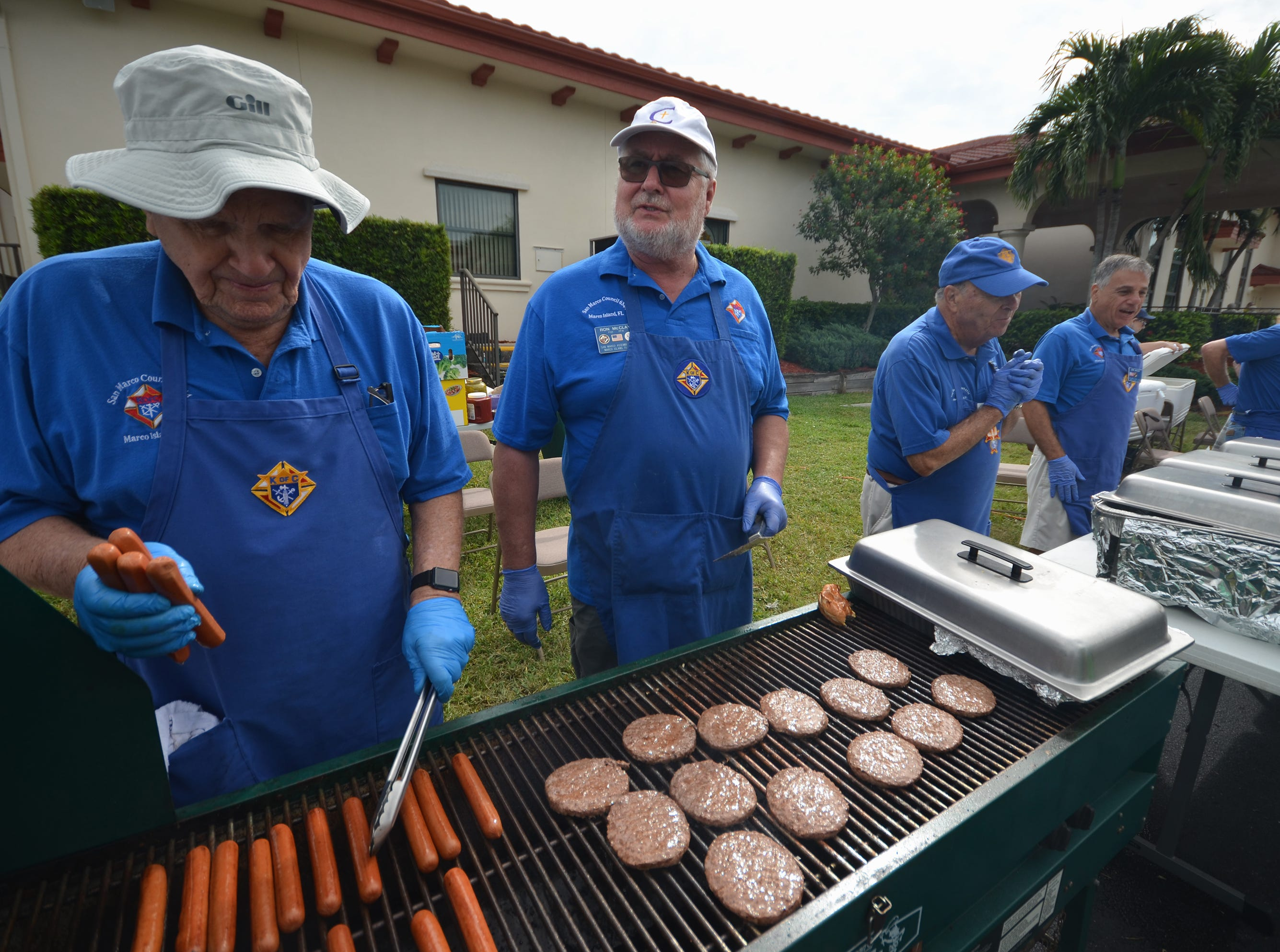 The Marco Island Knights of Columbus held their inaugural car show Saturday in the parking lot at San Marco Catholic Church.