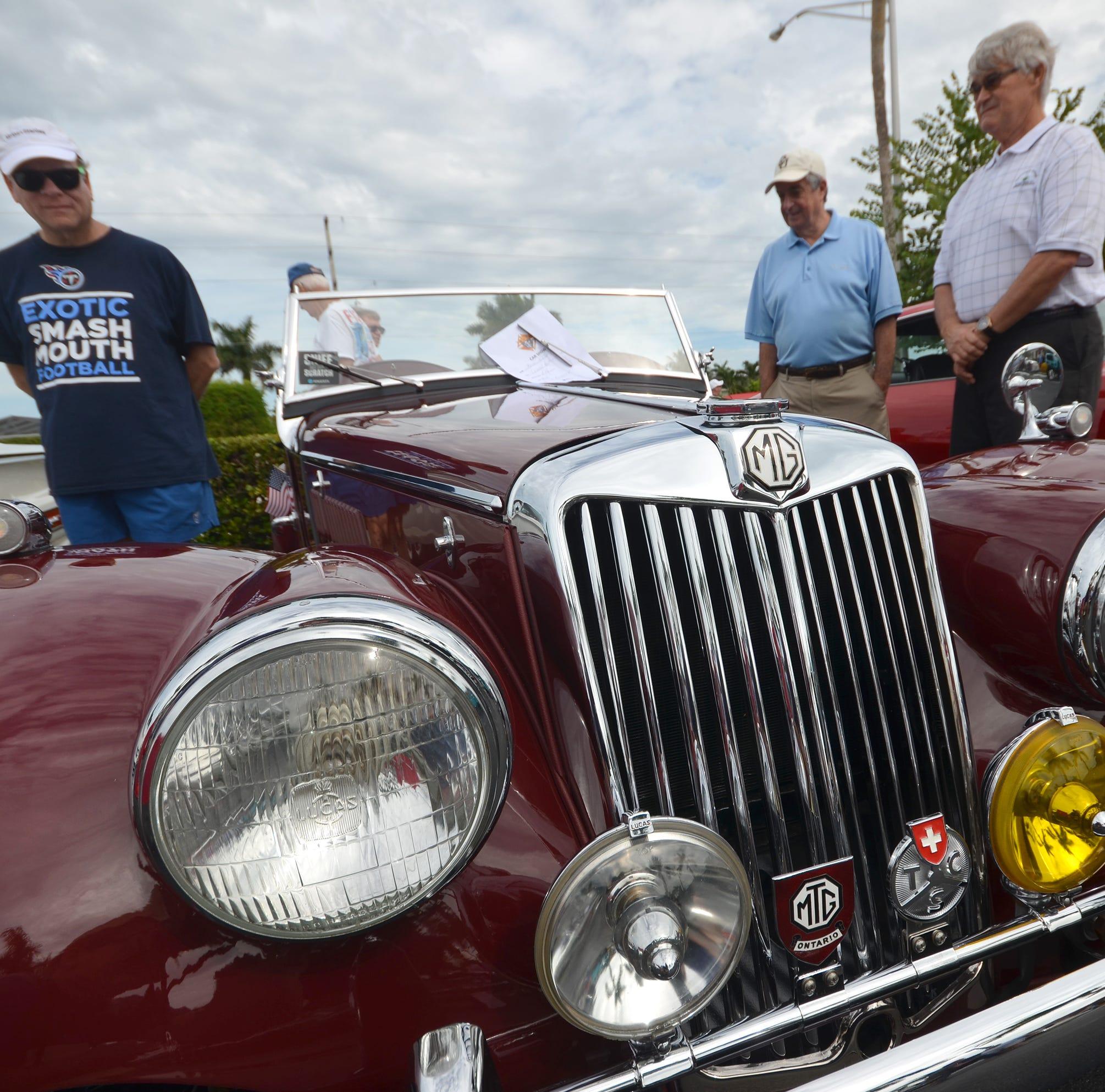 Knights of Columbus hold inaugural car show at San Marco