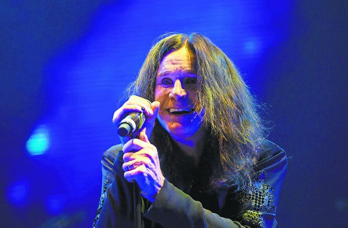 Ozzy Osbourne will perform at Summerfest on July 4, 2019.