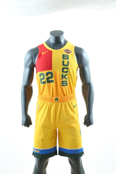 fe150fca6 Bucks unveil City Edition uniforms inspired by MECCA floor
