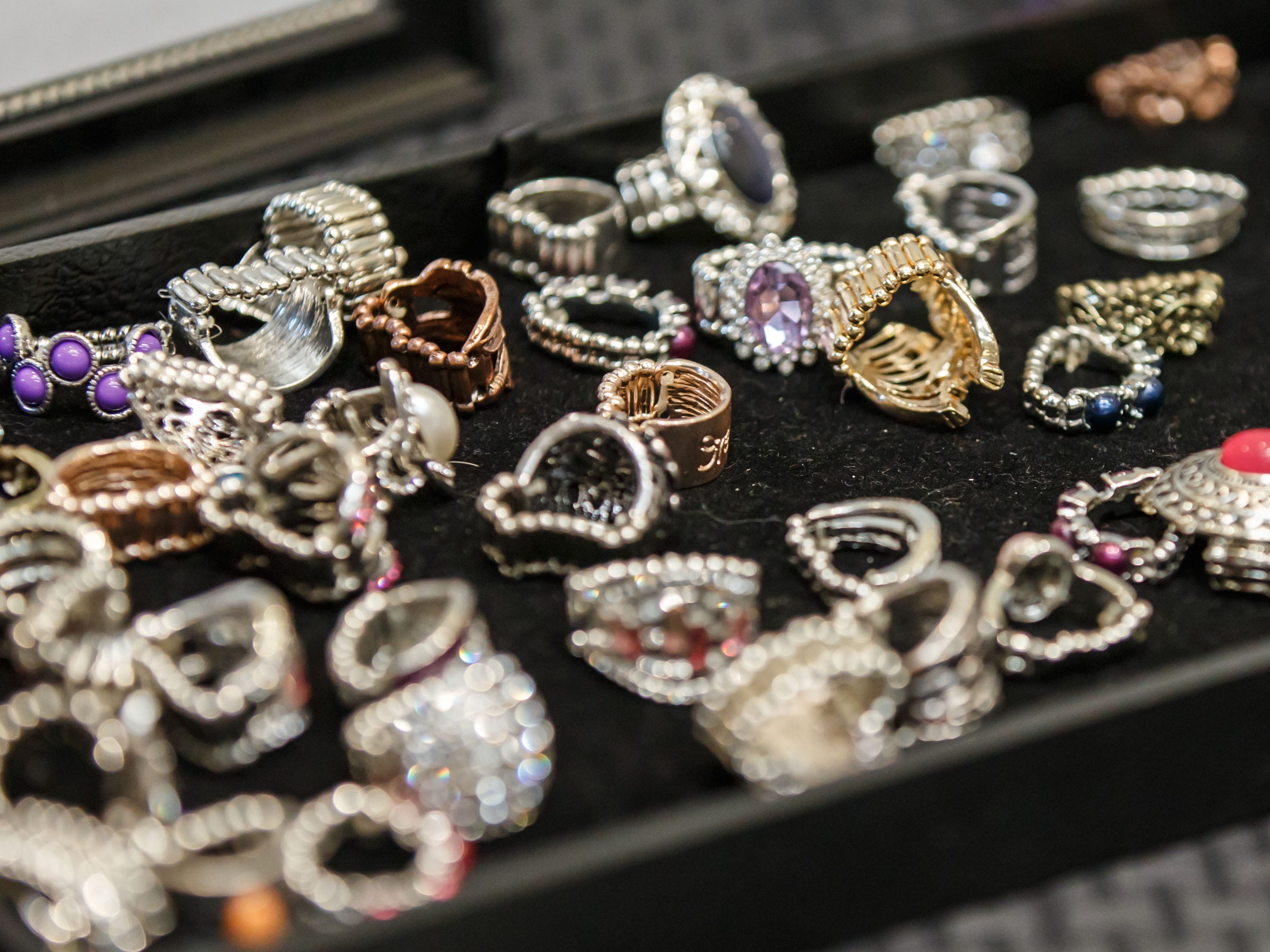 Jewelry, books, clothing and other items were on sale during the 2018 Holiday Bazaar at the Menomonee Falls Library on Saturday, Nov. 3. The annual event is a fundraising endeavor for the Friends of the Library, with a percentage of all sales supporting the group.