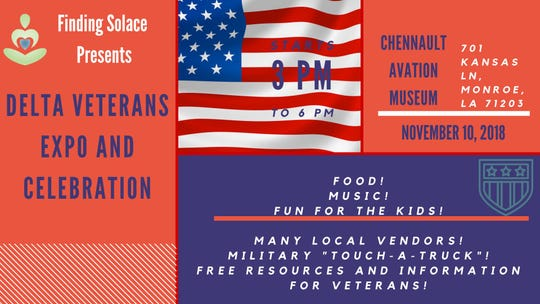 Delta Veterans' Expo & Celebration is Saturday.