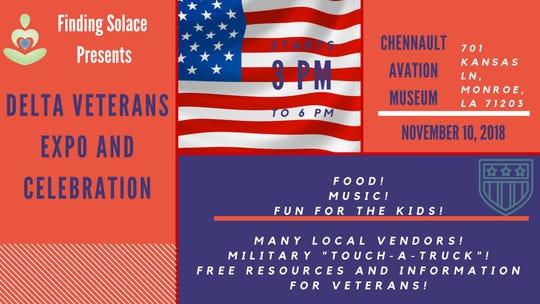 Delta Veterans' Expo & Celebration is Saturday.