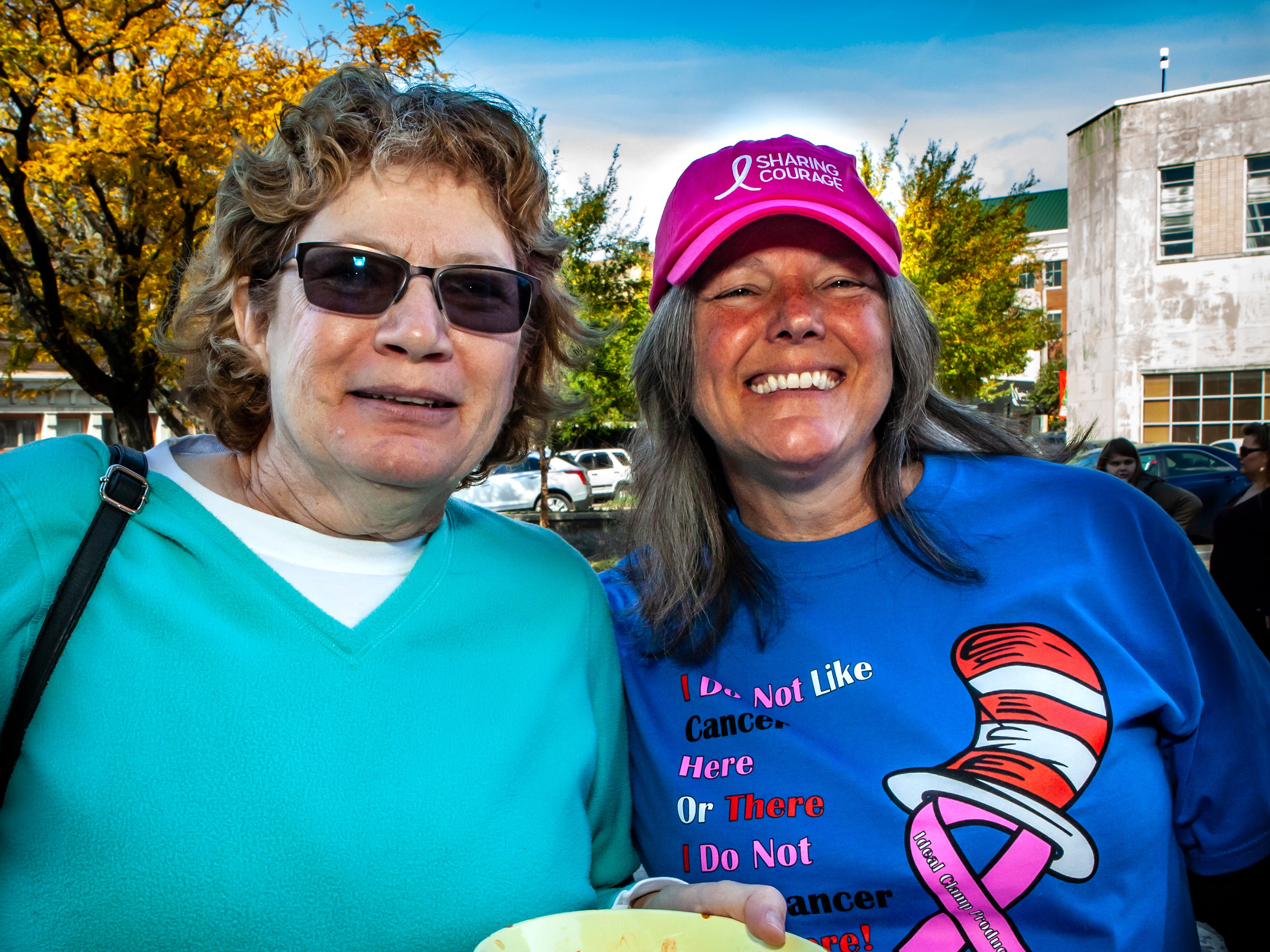 Cheryl Hicks and C.J. Combs at Rutherford County Habitat for Humanity's 2018 Cookin' to Build fundraiser on Saturday, Nov. 3, 2018.