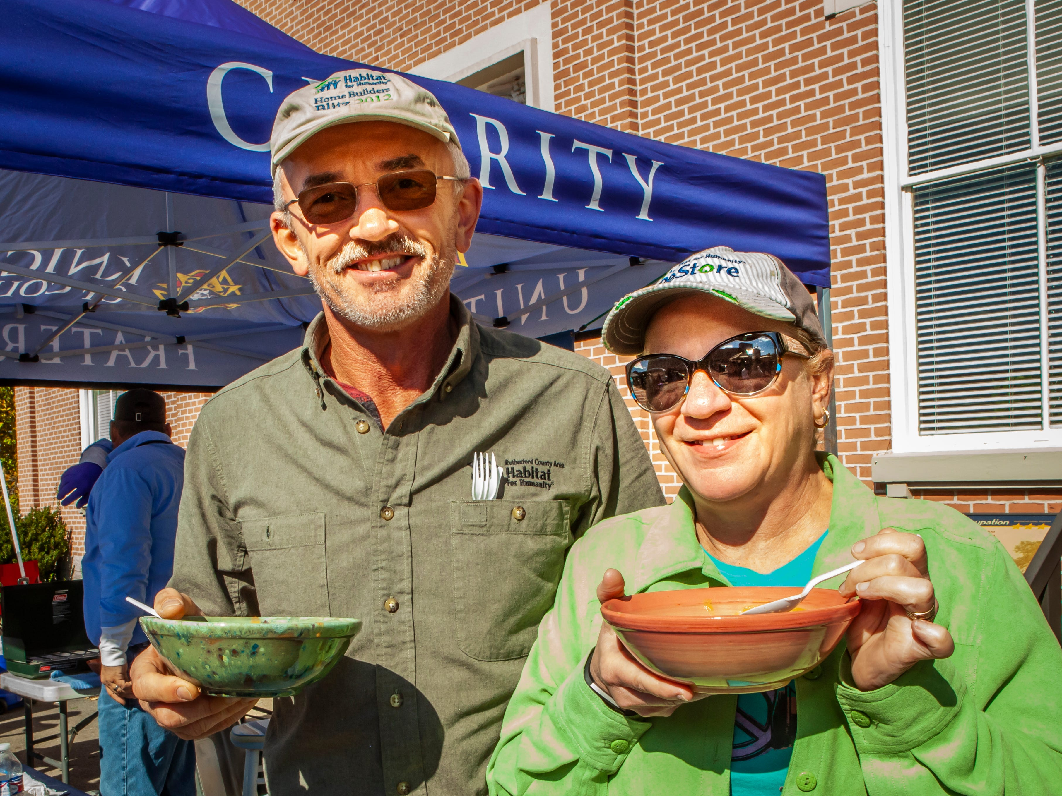 Roy and Beverly Saylor Rutherford County Habitat for Humanity's 2018 Cookin' to Build fundraiser on Saturday, Nov. 3, 2018.