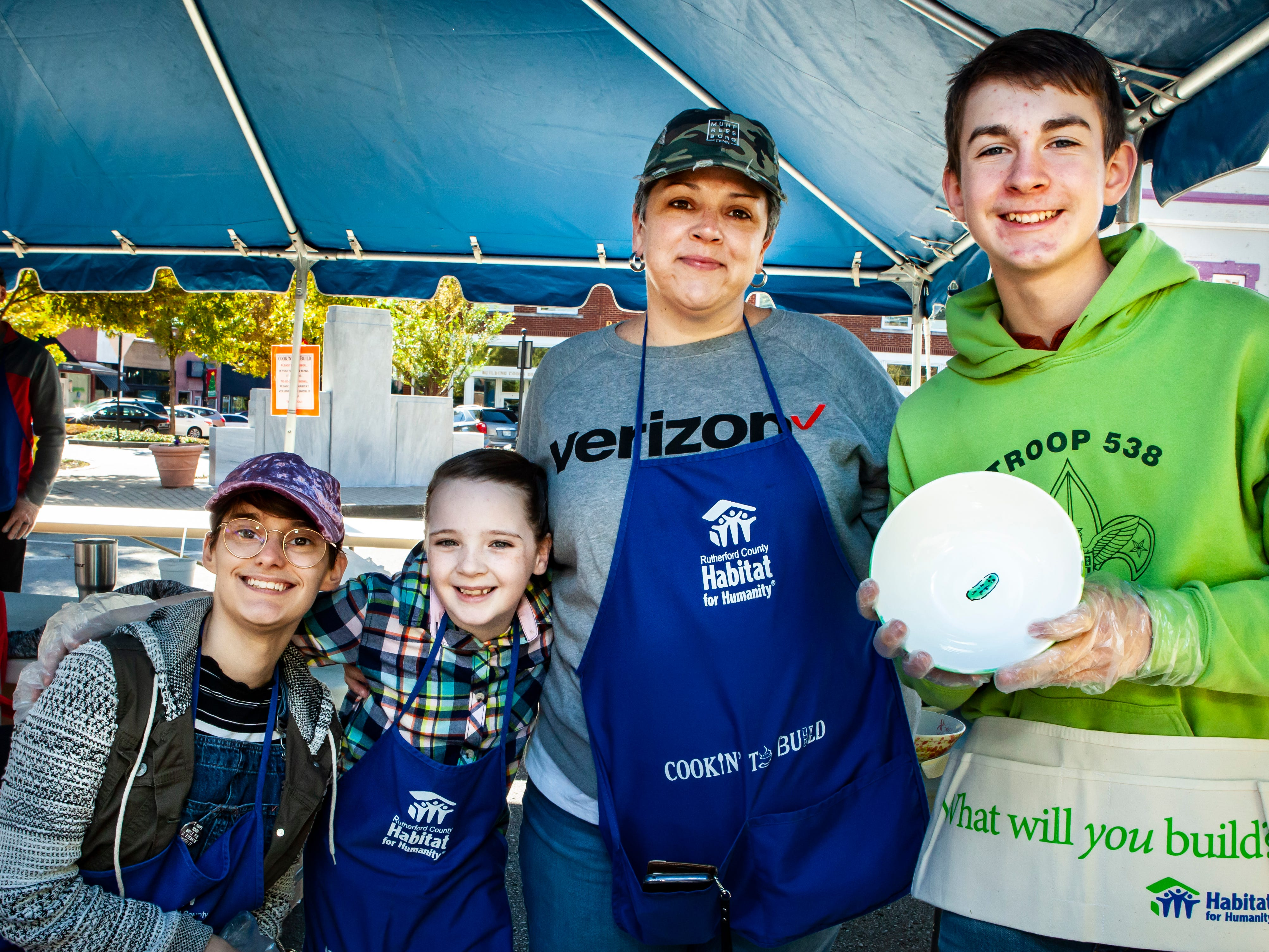 Rutherford County Habitat for Humanity's 2018 Cookin' to Build fundraiser on Saturday, Nov. 3, 2018.