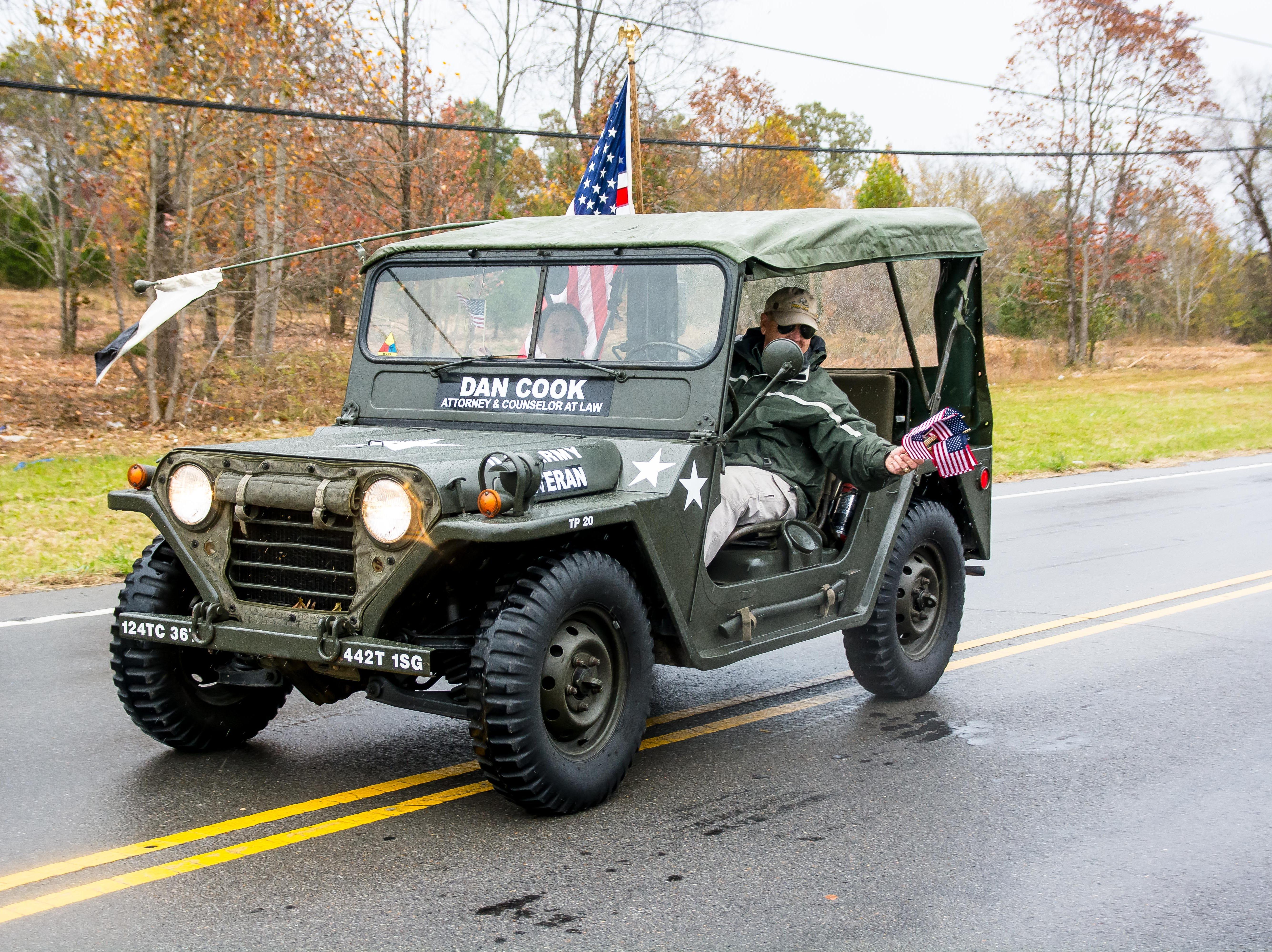 Scenes from the Cheatham County Veteran's Day Parade Day Parade on November 4, 2018.