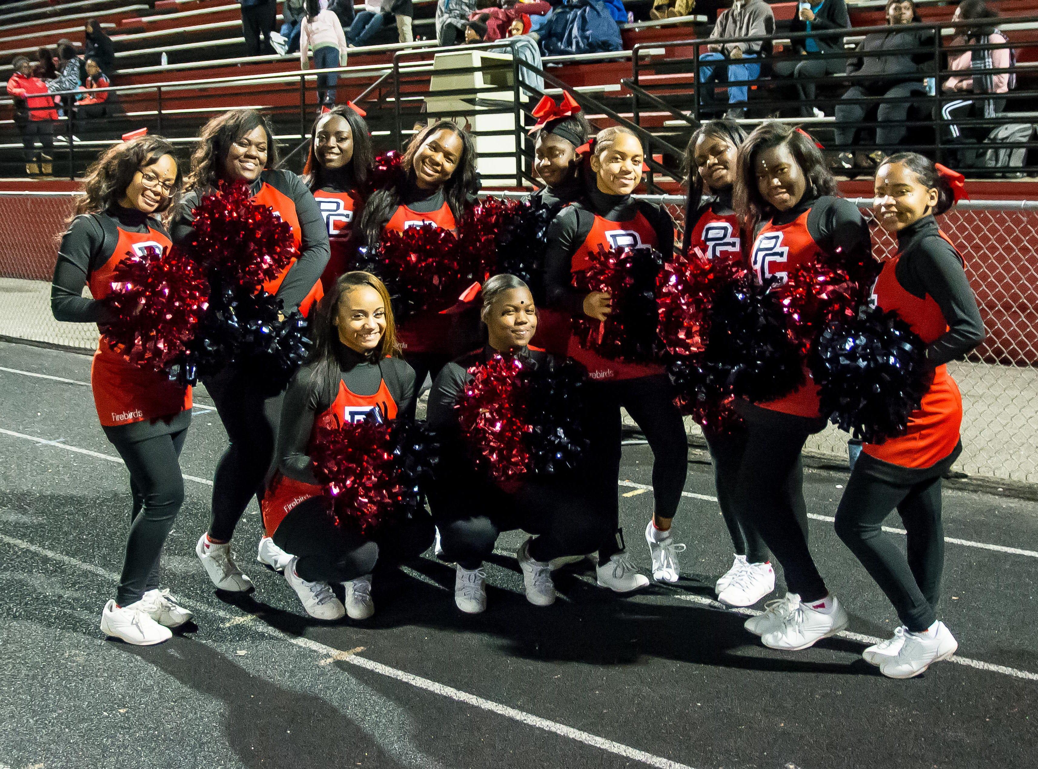 Pearl Cohn Lady Firebirds Cheerleaders.