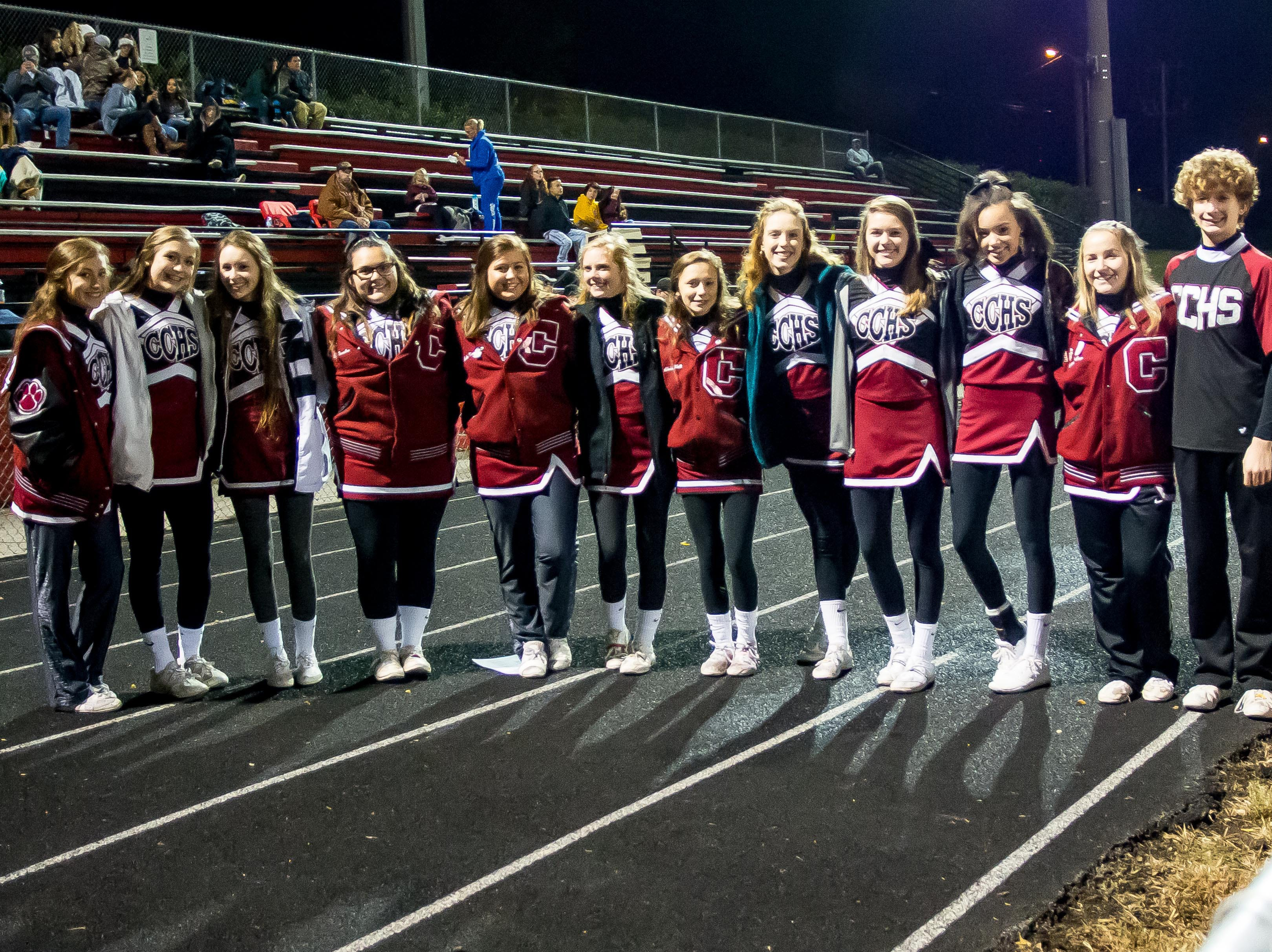 Cheatham County Lady Cubs Cheerleaders!