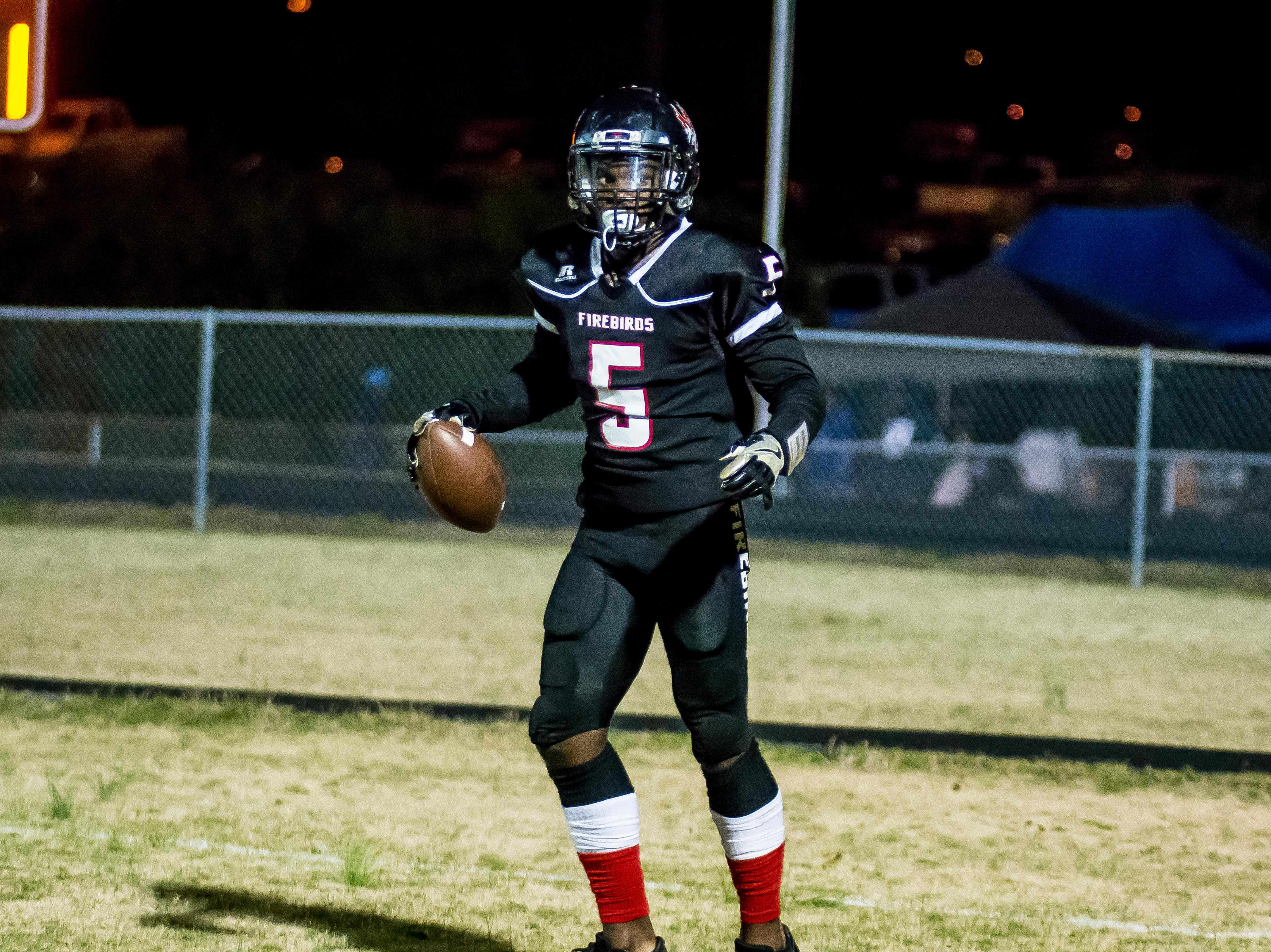 Vanderbilt commitment Jayden Harrison pulls in a touchdown pass.