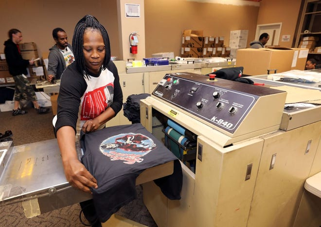 Something Inked designs, prints and ships from its 5-acre manufacturing facility on Elm Hill Pike.