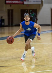 FGCU senior guard Haanif Cheatham was a two-season starter at Marquette and he'll play that same role for the Eagles.