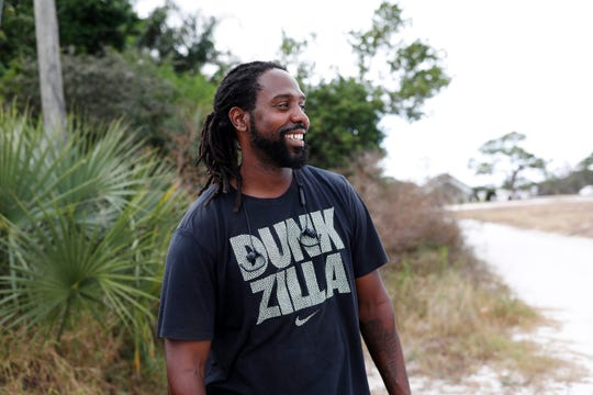 Bruce Moore, Jr., 39, of St. Petersburg, says he has been trying to rally support among fellow African-Americans for a state constitutional amendment that would restore voting rights to nonviolent felons who have served their time.