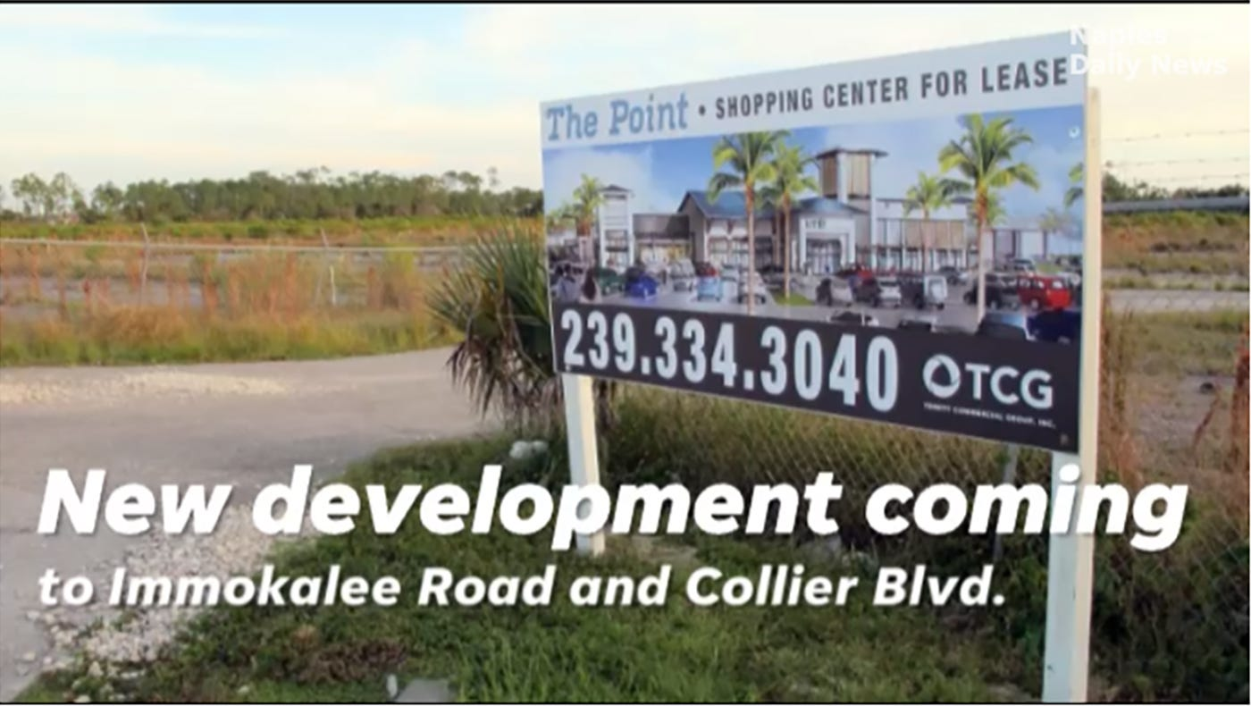Video: Development coming to Immokalee Road and Collier Boulevard