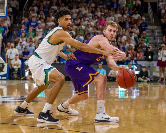 Senior guard Dinero Mercurius will be an FGCU starter this season after coming off the bench for then-Eagles coach Joe Dooley.