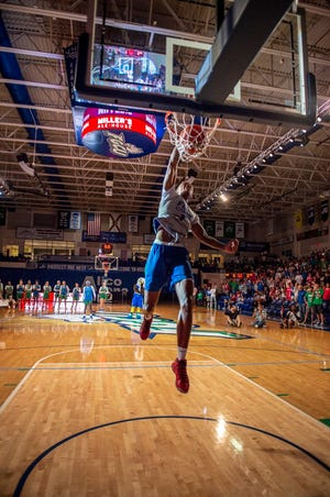 Sophomore forward Troy Baxter is just one of several talented big-time D-I transfers who will be eligible for FGCU this season.