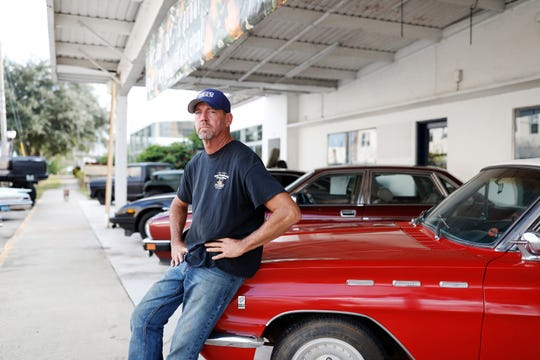 Justin Deen, 51, of Frostproof, votes Republican and says he doesn't have any use for career politicians.