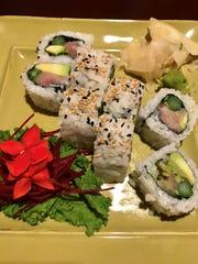 Tanzana roll at Tokyo Thai Sushi