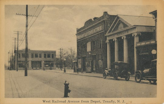 The Tenafly movie theater as it looked in 1920