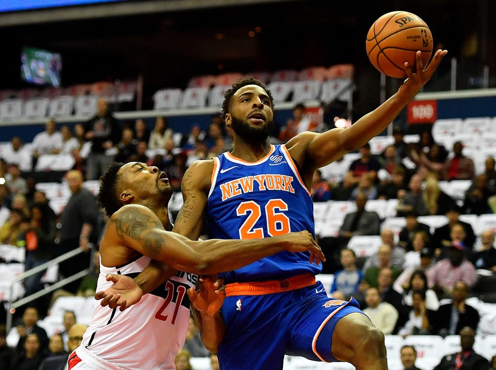 New York Knicks' Mitchell Robinson back home in New Orleans. Will he be able to play?