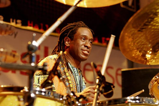 Will Calhoun, 54, counts David Sancious among his influences.