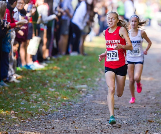 Northern Highlands runner Daisy Liljegren captured her first Group 3 sectional title on Satruday.