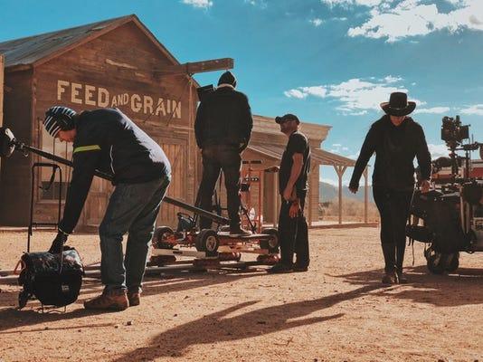Western Movie Set