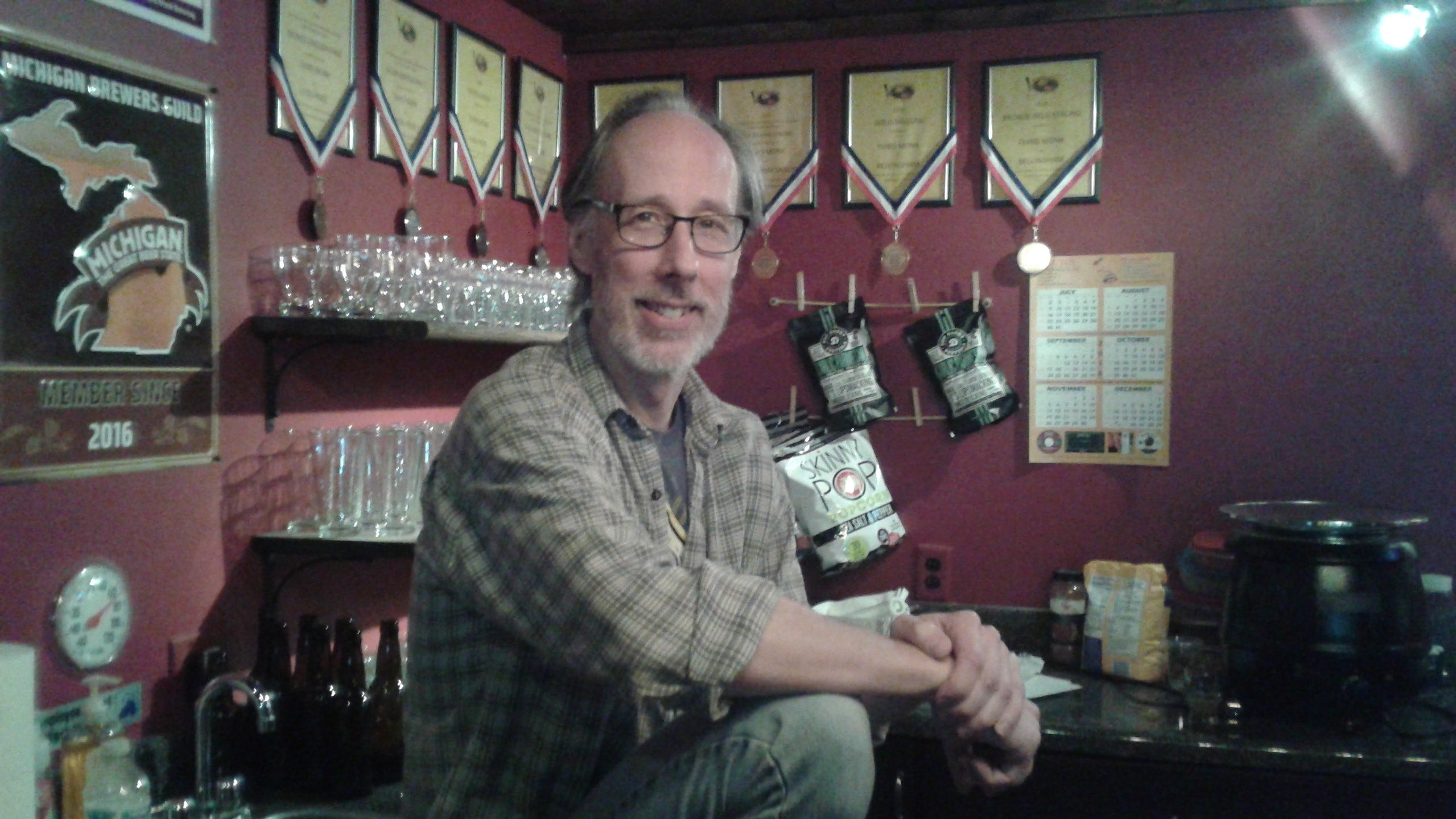 Jeff Robinson says he pays more in music license fees than he does excise tax for the beer he brews.