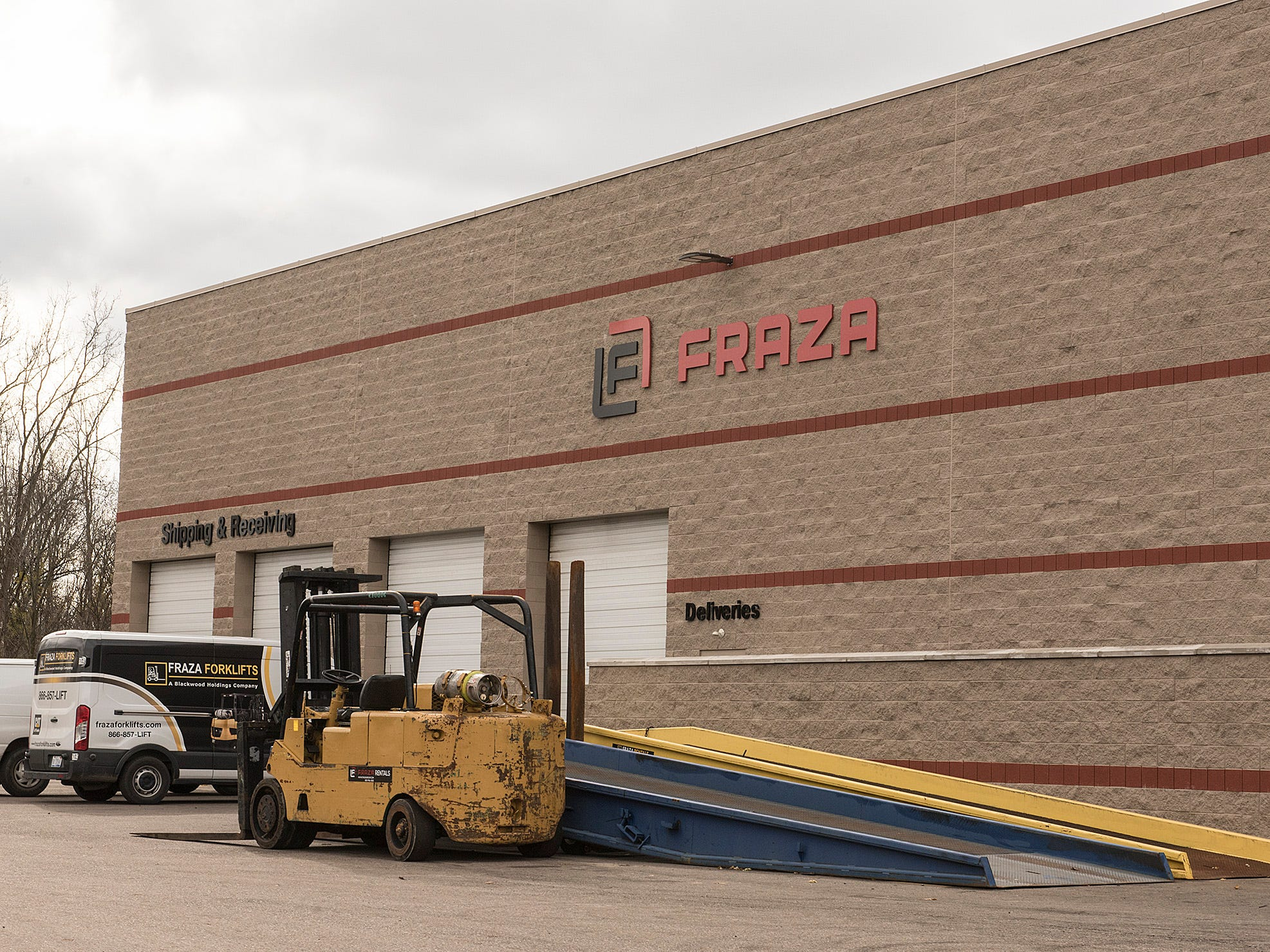 Fraza is a big name in forklifts in metro Detroit.