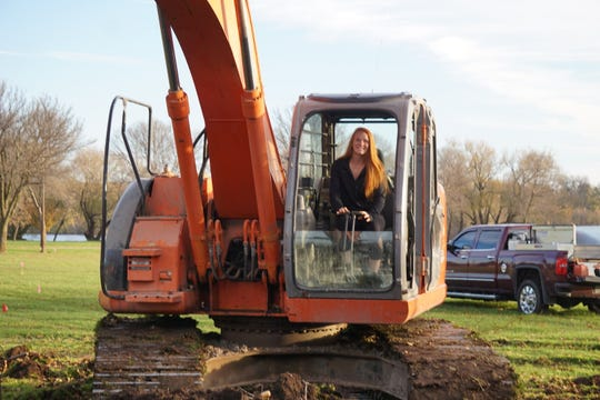 Syd Supple raised the $80,000 needed to break ground on the softball diamond at Rainbow Park.