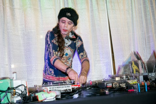 DJentrification performed during Crescent Ballroom's Halloween Costume Ball on Wednesday, October 31, 2018.