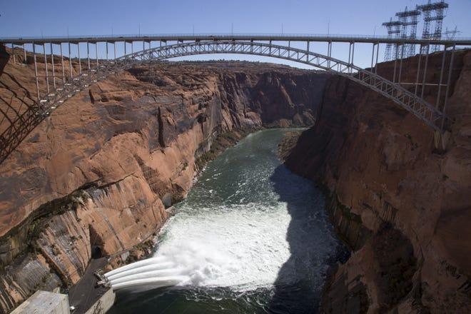 Glen Canyon Dam on Nov. 5, 2018.