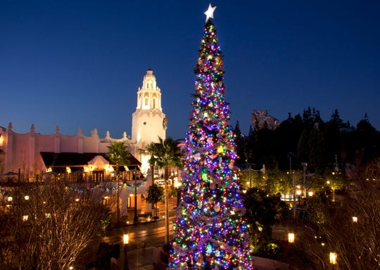 Glistening Christmas trees and beautiful seasonal décor adorn the entire Disneyland Resort during the holidays.
