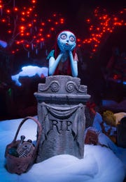 Jack Skellington's girlfriend Sally brings a unique spark to the season as Haunted Mansion Holiday returns to Disneyland park to celebrate the collision between Halloween and Christmas.