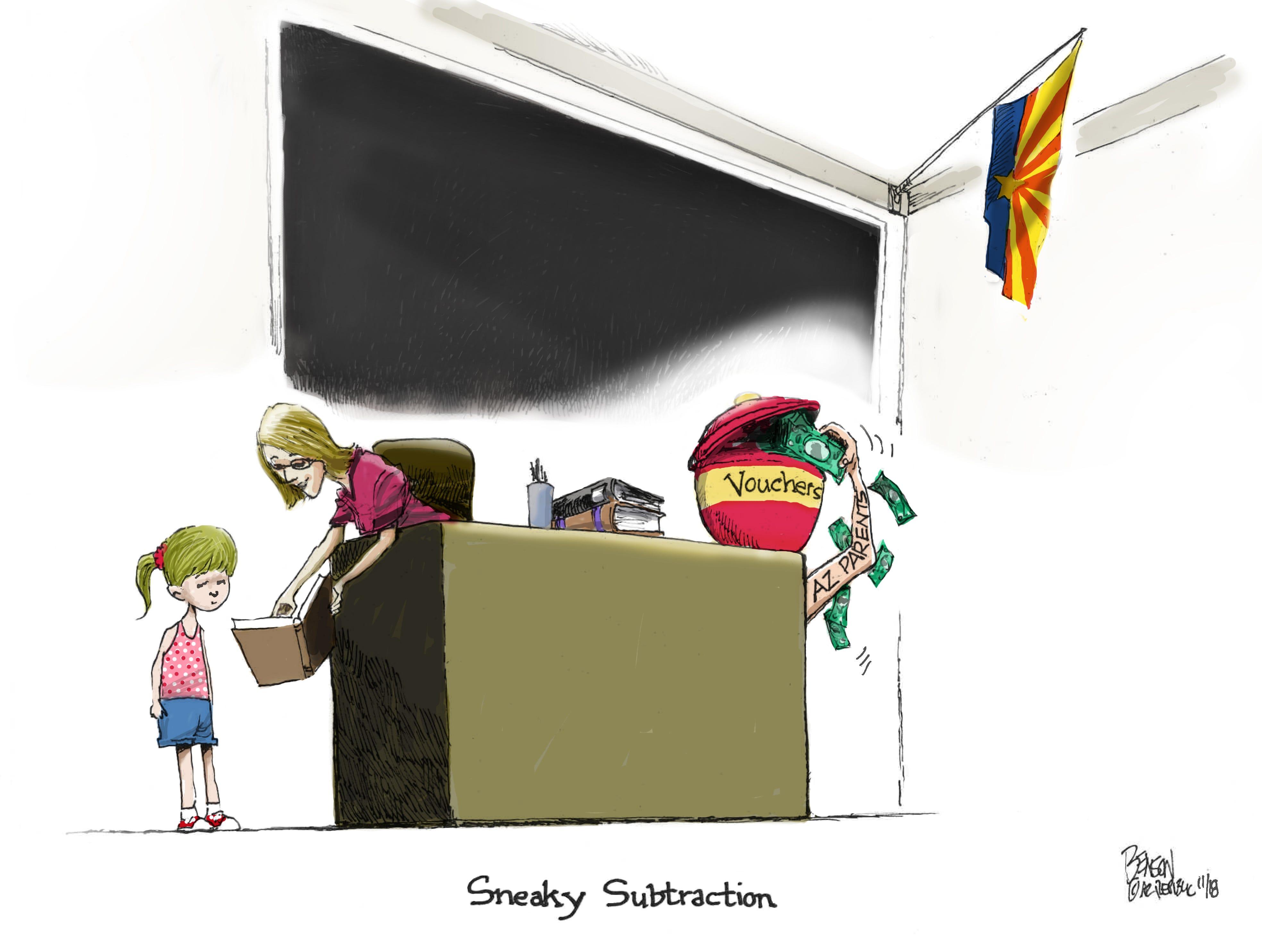 Cartoon for Nov. 5, 2018.